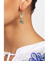 Gas Bijoux - Metallic A Tartaruga Earrings - Lyst