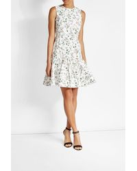 Giambattista Valli | White Printed Dress With Silk | Lyst