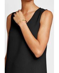 Gas Bijoux - Multicolor Sari Bangle Bracelet With Leather - Lyst