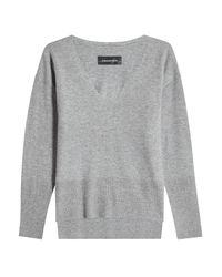 By Malene Birger - Gray Wool And Cashmere Pullover - Lyst