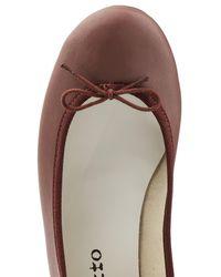 Repetto   Brown Cendrillon Leather Ballerinas   Lyst