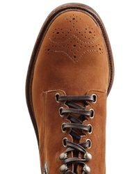 Dolce & Gabbana - Multicolor Suede Boots With Leather Appliques for Men - Lyst