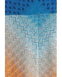 Missoni - Multicolor Crochet Knit Dress - Lyst