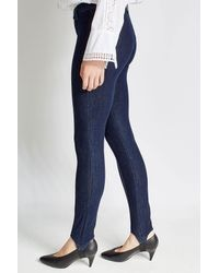 J Brand - Blue High Rise Stirrup Jeans - Lyst