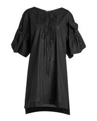 Three Graces London - Black Cotton Dress - Lyst