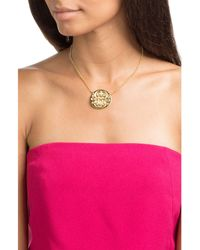 Gas Bijoux - Metallic Diva Large 24kt Gold-plated Necklace - Lyst