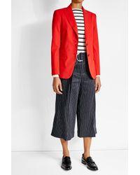 Max Mara - Red Virgin Wool Blazer - Lyst