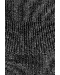Closed - Black Turtleneck Pullover With Wool And Cashmere - Lyst