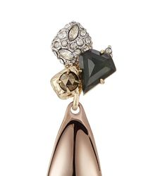 Alexis Bittar - Metallic 10kt Gold Earrings With Green Amethyst, Pyrite And Crystals - Lyst