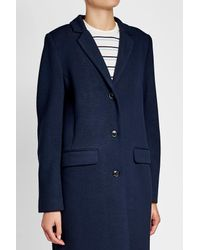 Closed - Blue Coat With Wool - Lyst