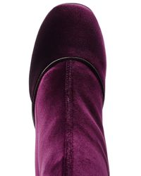 Laurence Dacade - Multicolor Velvet Knee-length Boots - Lyst