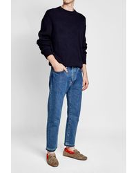 Tod's - Multicolor Suede Loafers With Shearling Insole - Lyst