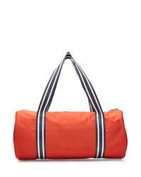 See By Chloé - Red Appliquéd Gym Bag - Lyst