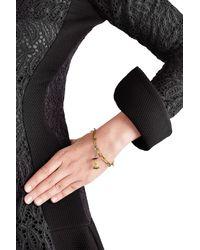 Aurelie Bidermann - Metallic 18kt Gold Big Apple Pendant With Rubies/diamonds - Lyst