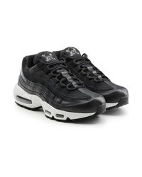 b9439d280f314 Lyst - Nike Air Max 95 Premium Sneakers With Leather in Black for Men