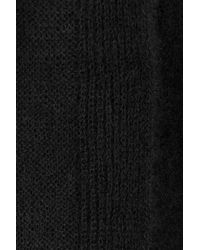Rick Owens - Black Cardigan With Mohair And Wool - Lyst