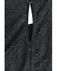 Anna Sui - Black Wild Rose Jumpsuit - Lyst