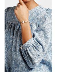 Marc Jacobs - Multicolor Logo Disc Bangle Bracelet - Lyst