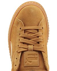Puma Cleated Creeper Suede Sneaker in Brown - Lyst 1c7f64ea7
