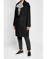 Lala Berlin - Black Wool Coat - Lyst
