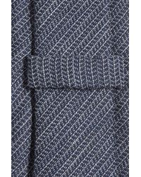 Baldessarini - Blue Printed Wool And Silk Tie for Men - Lyst