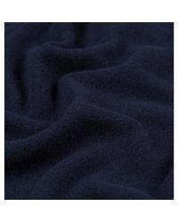 Sunspel Blue Women's Cashmere Zip Hoody In Navy