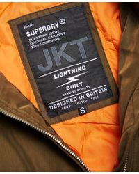 Superdry - Green Carrie Bomber Jacket - Lyst