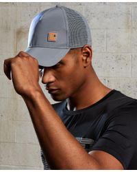 Superdry - Gray Super Sports Cap for Men - Lyst