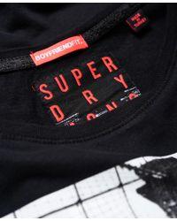 Superdry - Black Brooklyn Boyfriend T-shirt - Lyst
