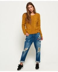 Superdry | Multicolor Jenna Cable Jumper | Lyst