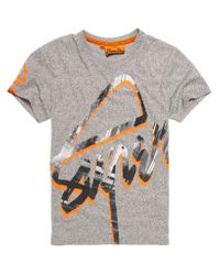 Superdry | Gray Down Town 45 Degrees T-shirt for Men | Lyst
