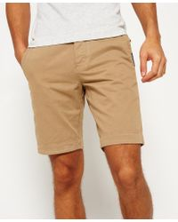 Superdry | Natural International Chino Shorts for Men | Lyst