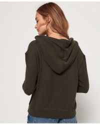 Superdry - Green Enford Hooded Top - Lyst