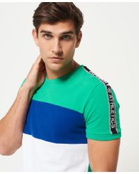 Superdry | Multicolor Stadium Panel T-shirt for Men | Lyst