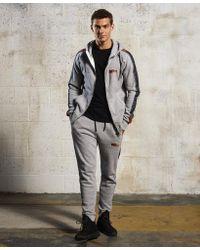Superdry Gray Sport Label Impact Jogger for men