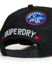 Superdry - Green Fly Trucker Cap for Men - Lyst