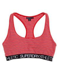 Superdry - Red Athletic Bralet - Lyst