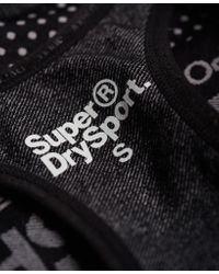 Superdry - Black Gym Seamless Bra - Lyst