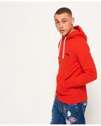 Superdry - Red Orange Label Lite Hoodie for Men - Lyst