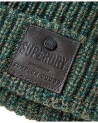 Superdry - Green Surplus Downtown Beanie for Men - Lyst