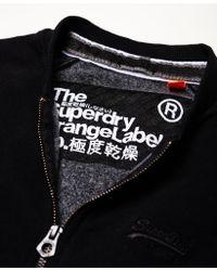 Superdry - Black Orange Label Urban Bomber Jacket for Men - Lyst