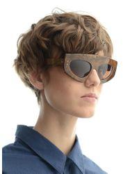 Oliver Goldsmith - White Masquerade Sunglasses - Lyst