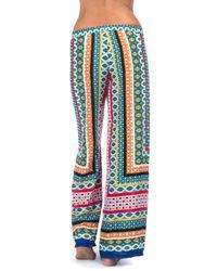 La Blanca - Blue Garden Mosaics Pant Cover Up - Lyst