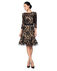 Tadashi Shoji | Black Lace Sheath Dress | Lyst