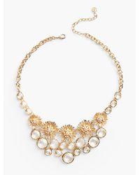 Talbots - Metallic Spring Burst Necklace - Lyst