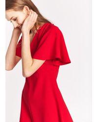 Tara Jarmon   Red A-line Mini Dress   Lyst