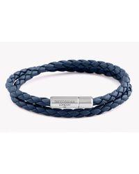 Tateossian | Blue Double Wrap Slim Pop Taito Bracelet for Men | Lyst