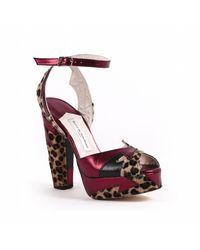 Terry De Havilland - Multicolor Zia Leopard - Lyst