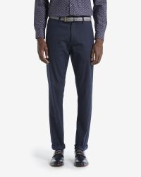 Ted Baker | Blue Brushed Cotton Trousers for Men | Lyst