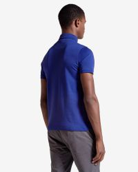 Ted Baker - Blue Jersey Polo Shirt for Men - Lyst